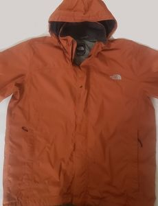 Mens The North Face HyVent Rain Jacket Size XL.